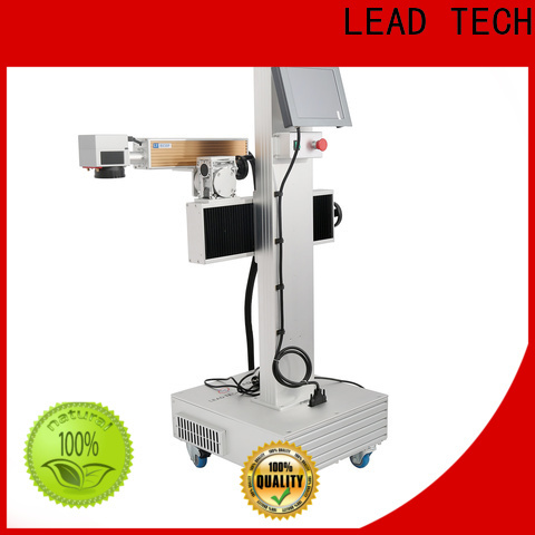 LEAD TECH High-quality color laser marking company for auto parts printing