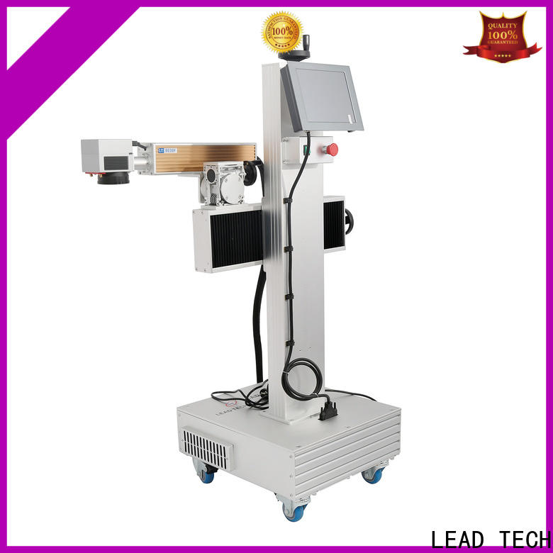 LEAD TECH batch coding machine promotional for pipe printing