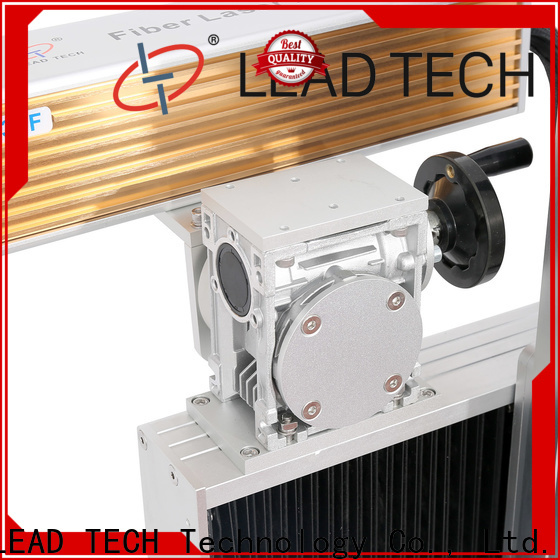 LEAD TECH small laser etching machine easy-operated for auto parts printing