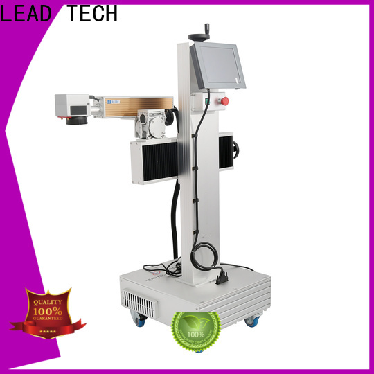 LEAD TECH glass etching machine cost easy-operated for food industry printing