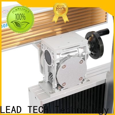 LEAD TECH fiber laser machine manufacturers for business for beverage industry printing