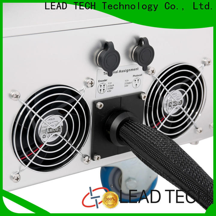 LEAD TECH laser line marking machines high-performance for drugs industry printing