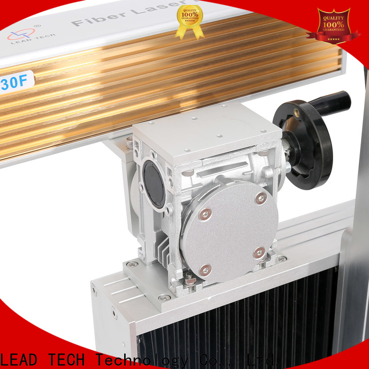 LEAD TECH Latest laser printing machine on plastic for business for auto parts printing