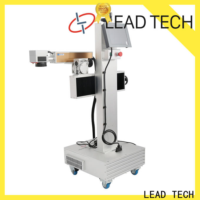 LEAD TECH Latest co2 laser marking company for drugs industry printing