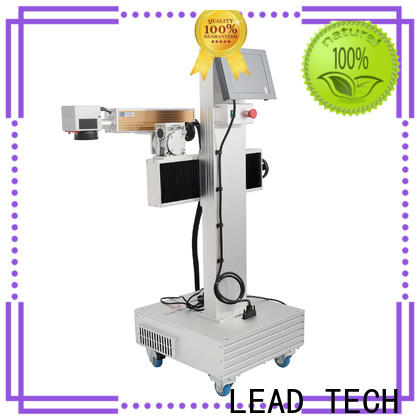LEAD TECH New portable laser marking machine Supply for building materials printing