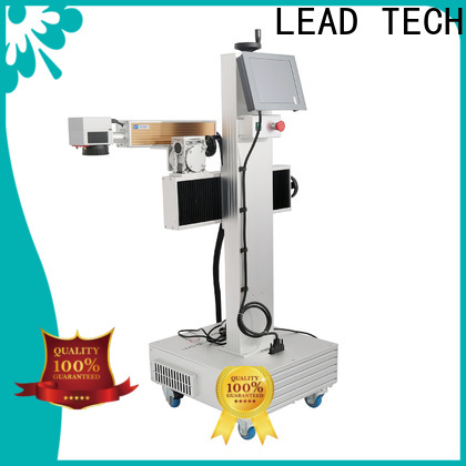 LEAD TECH buy laser machine fast-speed for beverage industry printing