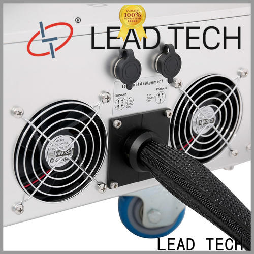 LEAD TECH color laser etching factory for auto parts printing