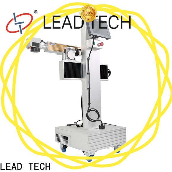 LEAD TECH laser part marking Supply for drugs industry printing