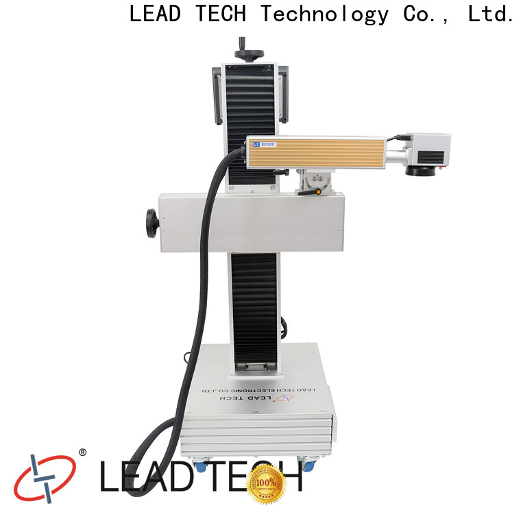 LEAD TECH laser monogram machine company for beverage industry printing