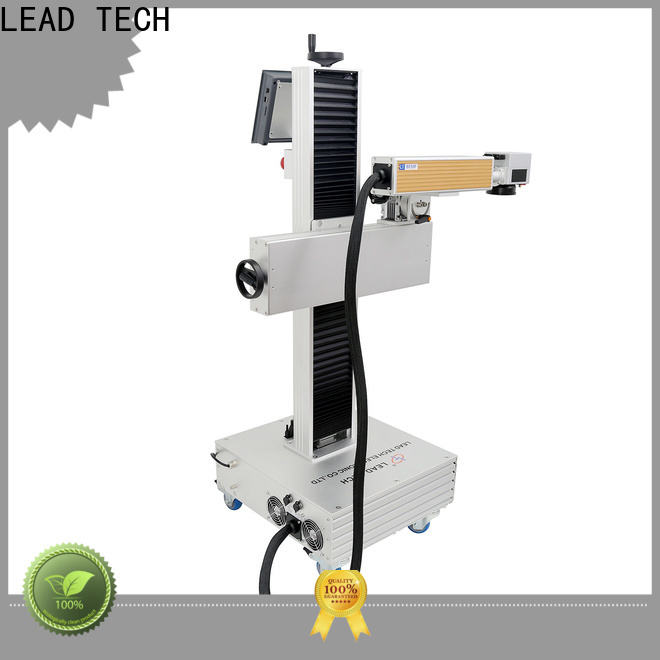 LEAD TECH Wholesale laser printing machine easy-operated for pipe printing