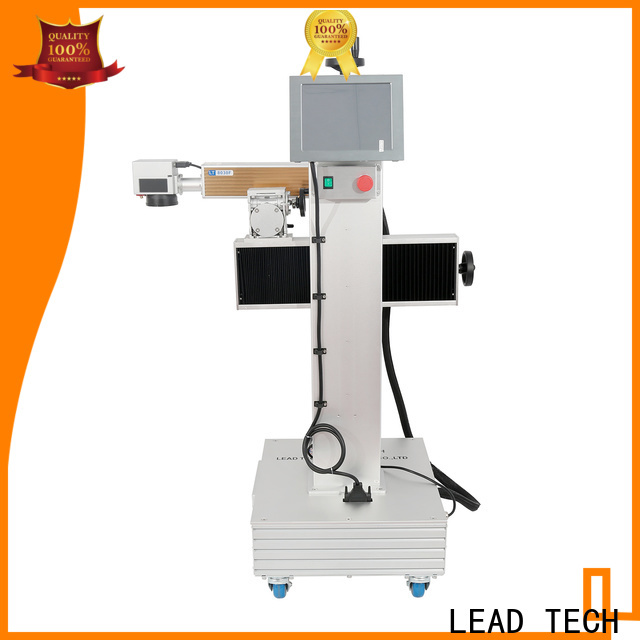 LEAD TECH glass etching machine price easy-operated for food industry printing