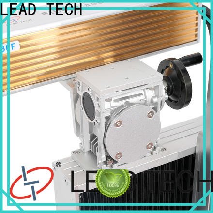 LEAD TECH aluminum structure buy laser machine easy-operated for beverage industry printing
