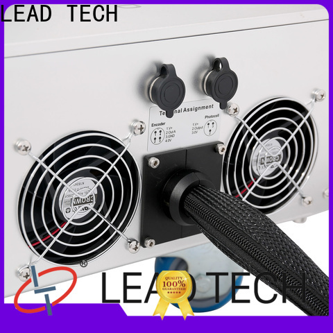 LEAD TECH fiber laser marking system price for business for food industry printing