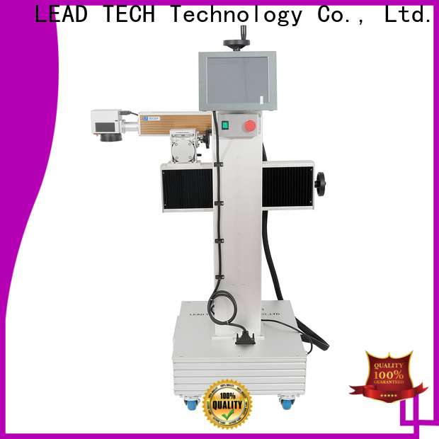 LEAD TECH Custom laser branding machine manufacturers for tobacco industry printing