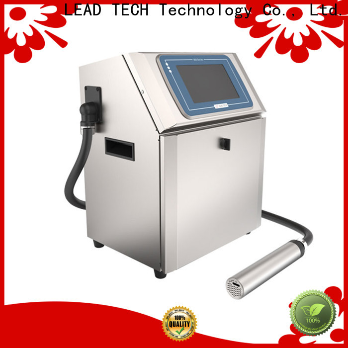 LEAD TECH commercial network inkjet printer fast-speed for auto parts printing