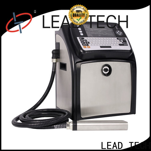 LEAD TECH high-quality bestcode inkjet printer high-performance for pipe printing