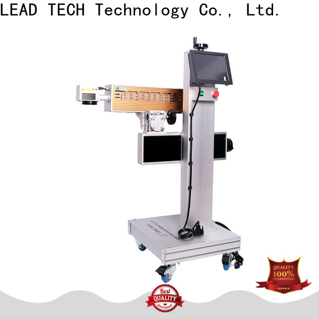LEAD TECH metal laser marking machine price Supply for drugs industry printing