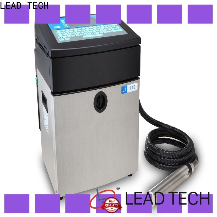 LEAD TECH industrial inkjet printing machines custom for drugs industry printing