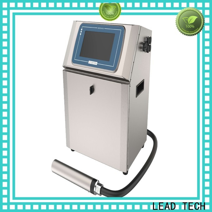 LEAD TECH cij printing professtional for tobacco industry printing