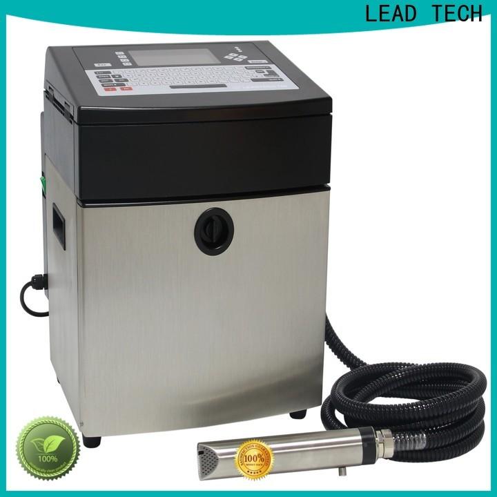 LEAD TECH inkjet machine professtional for food industry printing