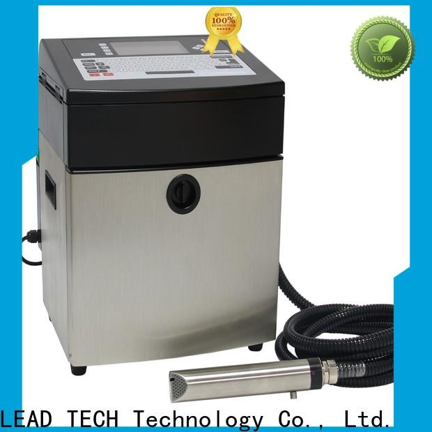 LEAD TECH dust-proof inkjet vs laser printer difference factory for beverage industry printing