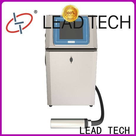 LEAD TECH Best chinese inkjet printer high-performance for beverage industry printing