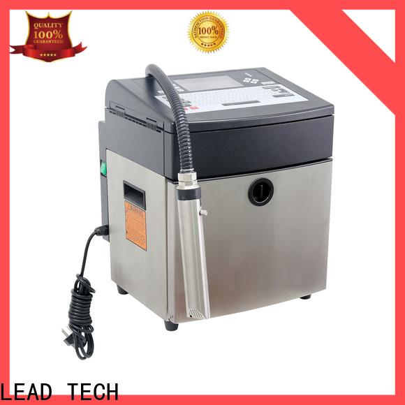 Custom inkjet bottle printer manufacturers for food industry printing