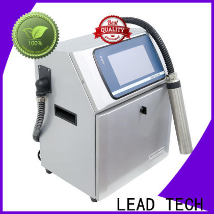 LEAD TECH Custom efficient inkjet printers factory for food industry printing