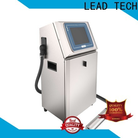 LEAD TECH printer convert to continuous ink for business for auto parts printing