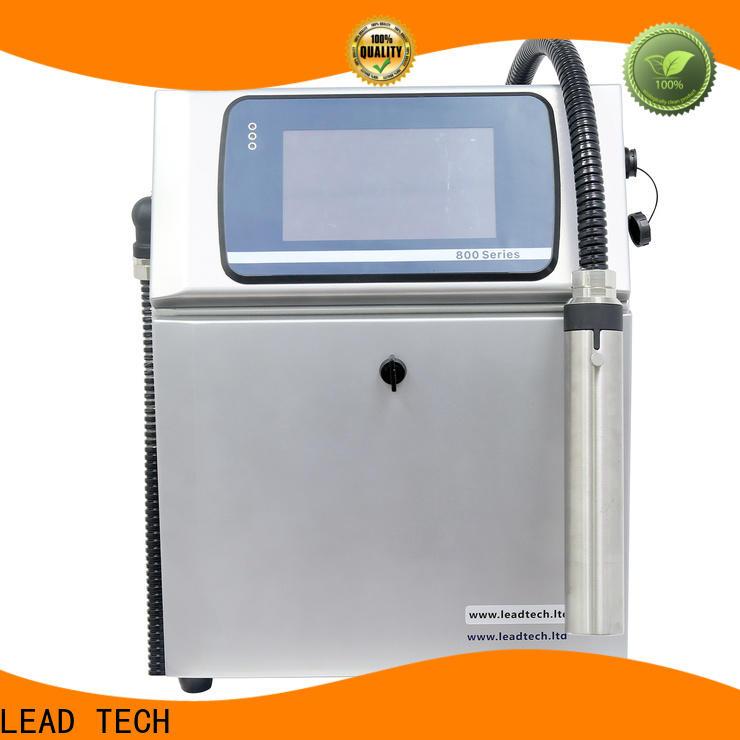 LEAD TECH hot-sale standard inkjet printer OEM for pipe printing