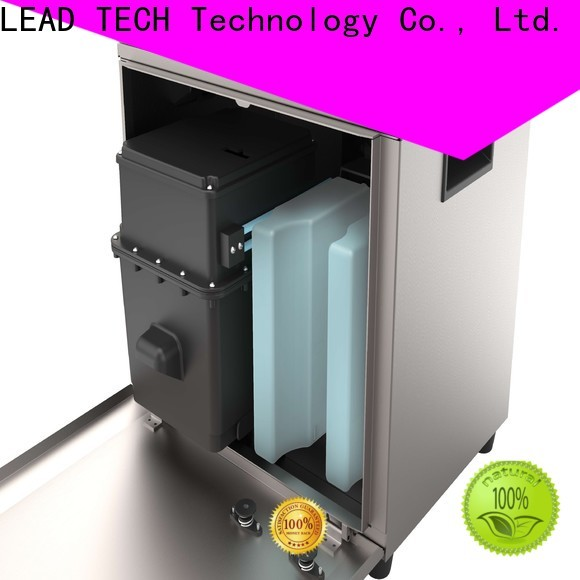 LEAD TECH Best small character inkjet easy-operated for pipe printing