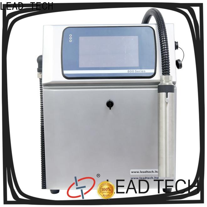 LEAD TECH Best inkjet printer supplies OEM for drugs industry printing