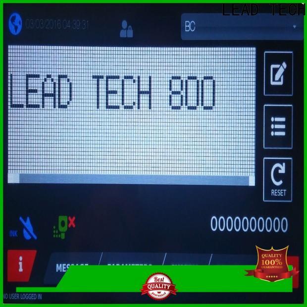 LEAD TECH Custom thermal inkjet printer manufacturers professtional for food industry printing