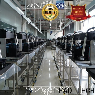 LEAD TECH cij inkjet printer company for auto parts printing