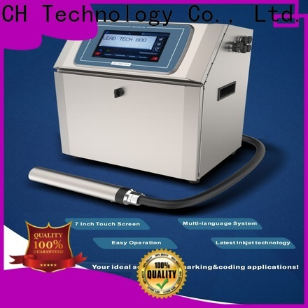 LEAD TECH inkjet vs laser printer difference OEM for auto parts printing