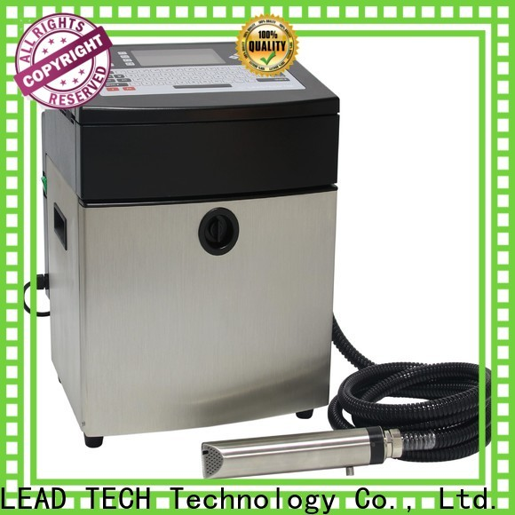 LEAD TECH domino inkjet printer for auto parts printing