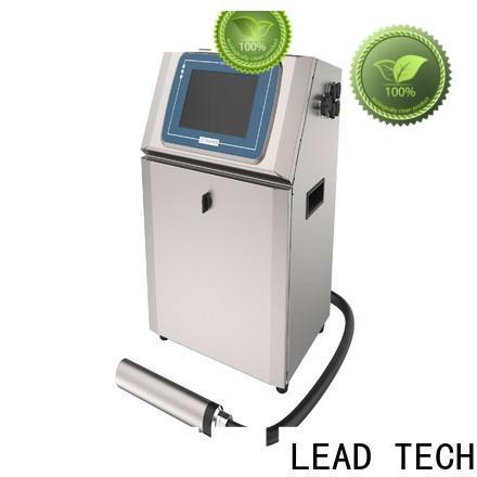LEAD TECH innovative plastic jet printing company for auto parts printing