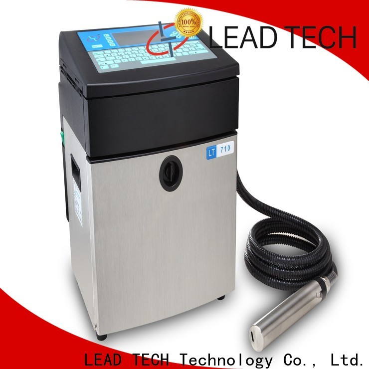 LEAD TECH New define inkjet printer Suppliers for tobacco industry printing