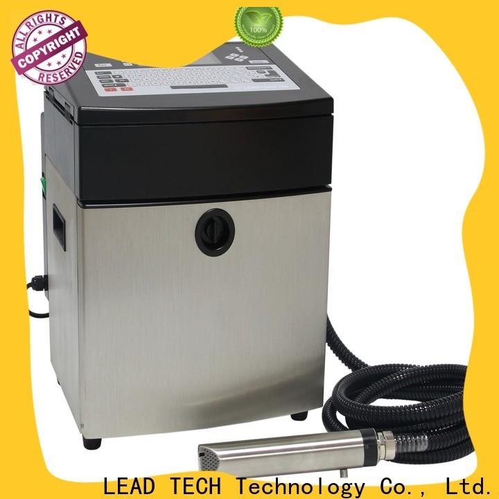 LEAD TECH innovative printer inkjet adalah company for daily chemical industry printing
