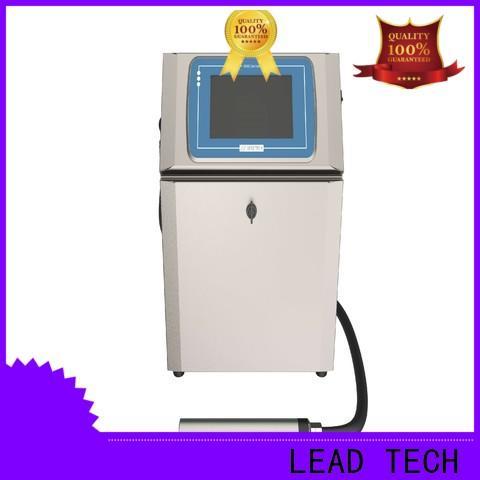 LEAD TECH kgk inkjet printer custom for daily chemical industry printing