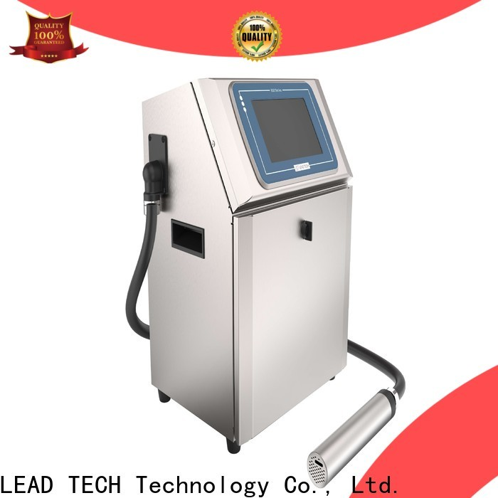 LEAD TECH injection printer for tobacco industry printing