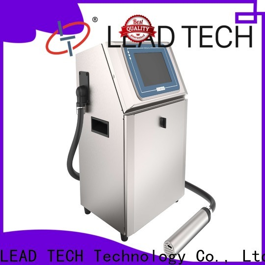 LEAD TECH Custom continuous ink printer philippines fast-speed for building materials printing