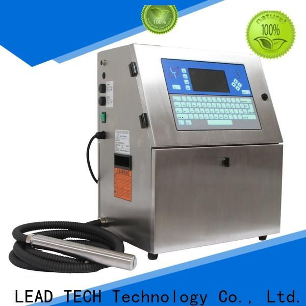 LEAD TECH inkjet printers uk professtional for drugs industry printing