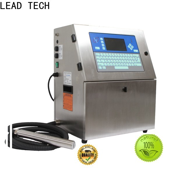 LEAD TECH cij printer manufacturers for pipe printing