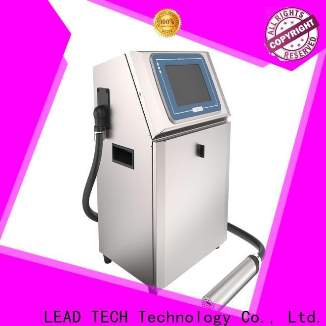 LEAD TECH innovative best ink for inkjet printer OEM for beverage industry printing