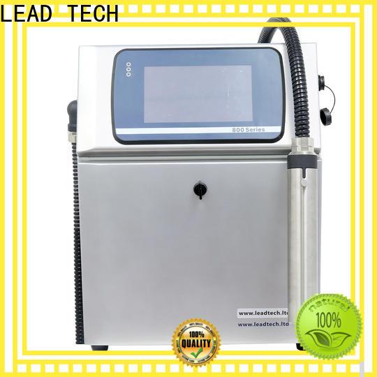 LEAD TECH laser printer vs inkjet printer india manufacturers for drugs industry printing