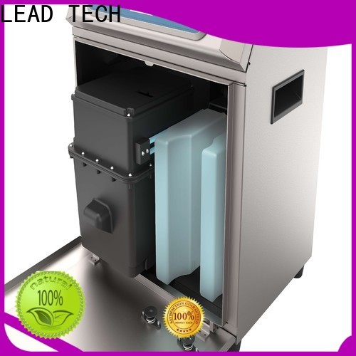 LEAD TECH bulk thermal inkjet printer manufacturers good heat dissipation for tobacco industry printing