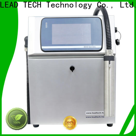 LEAD TECH an inkjet printer high-performance for daily chemical industry printing