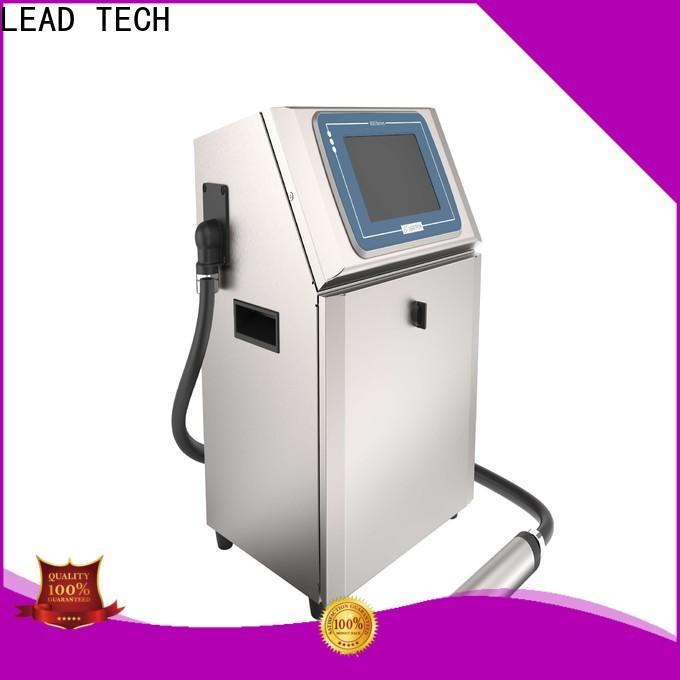 LEAD TECH laser printer versus inkjet printer factory for drugs industry printing
