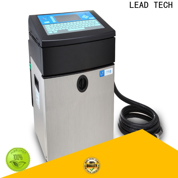 LEAD TECH Top inkjet label printer manufacturers for pipe printing